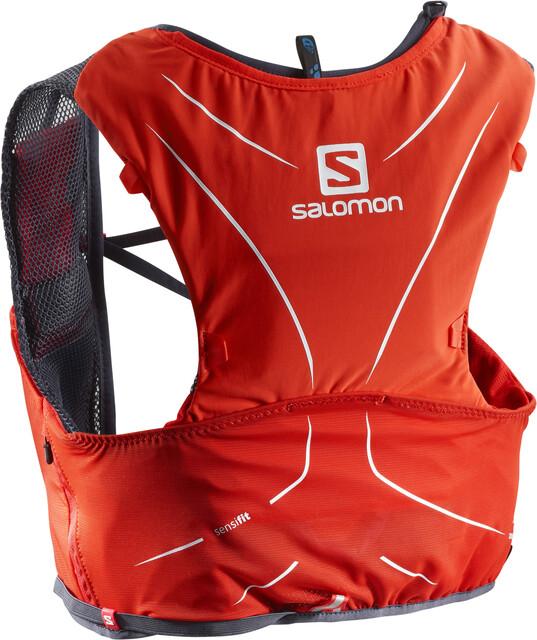 Salomon Adv Skin 5 Bag Set Fiery Röd/Graphite